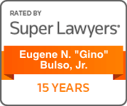 Gino Bulso Super Lawyers 15 Years