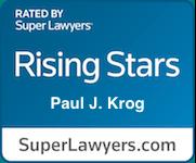 Paul Krog Super Lawyers Rising Stars